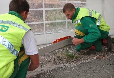 41èmes Olympiades des métiers - Épreuves régionales - Constructeurs de routes - BTP