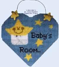 Baby Door Hanger free pattern