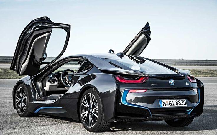 My New 2016 Sophisto Grey Metallic w/BMW I Frozen Blue accent BMW I8