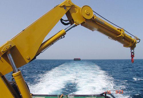 Hydraulic Telescopic Knuckle Boom Marine Ship Deck Crane Knuckle Boom Telescope Deck