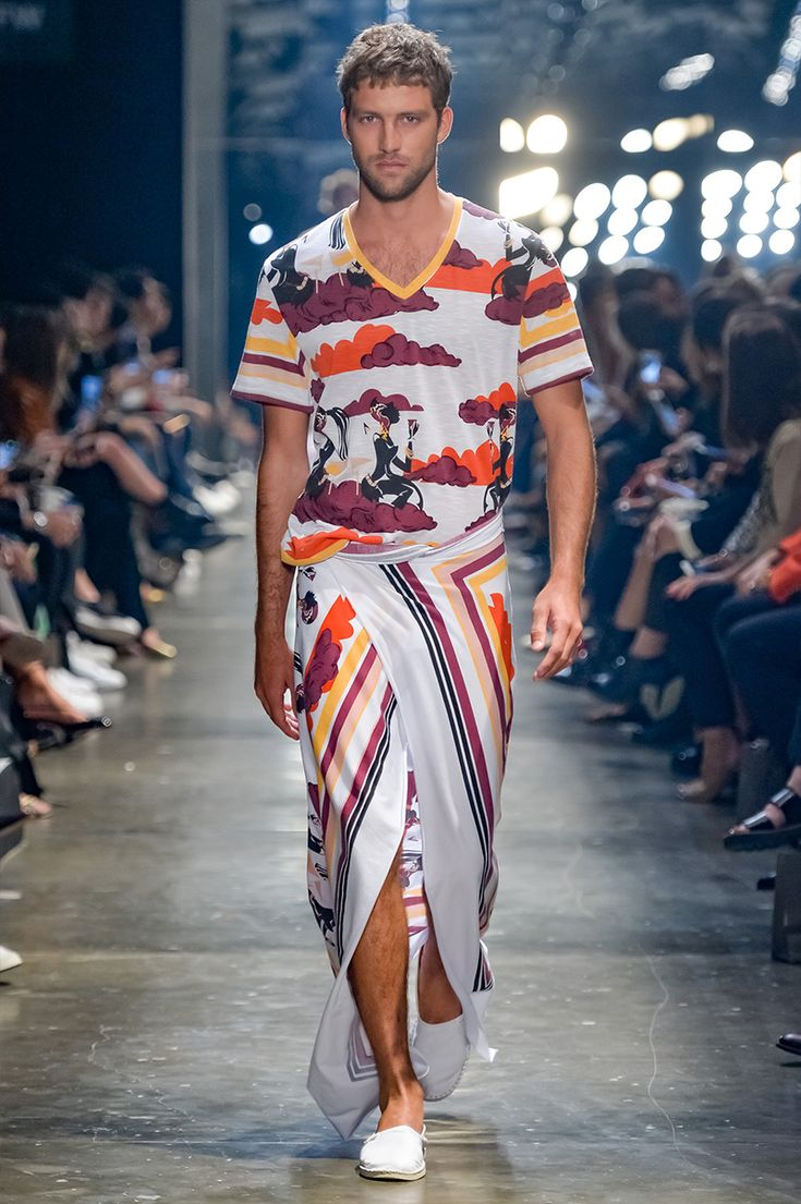 Murilo Lomas presented hisSpring/Summer 2017collection during São Paulo Fashion Week.