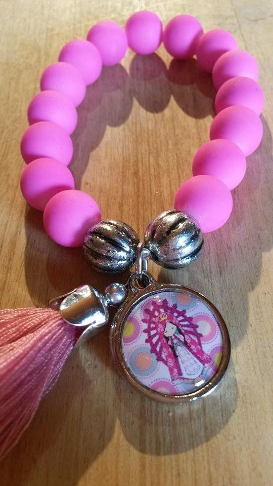 pack 50 pulseras porfis virgencita plis cuidame mucho!!!