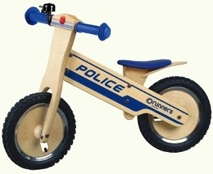 Get your sirens on with this little cuties. Runners Police Balance Bike - Canada
