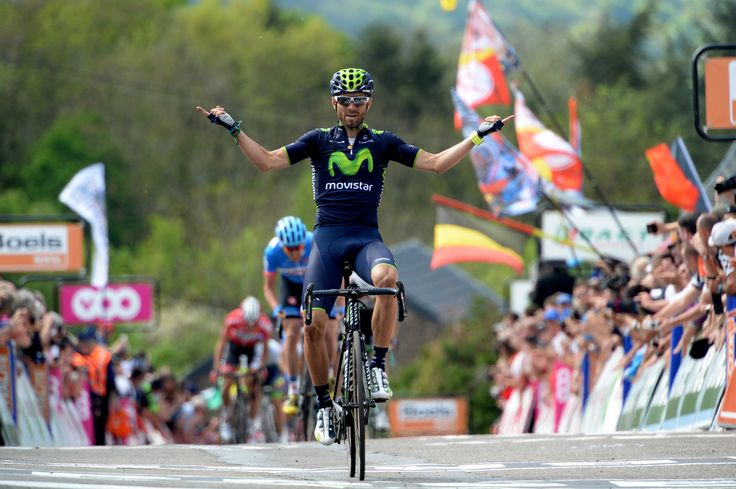 Valve released | La Flèche Wallonne 2014 – five observations | Alejandro Valverde celebrates his sixth victory of the year and his second career victory at La Fleche Wallonne. pic: Sirotti