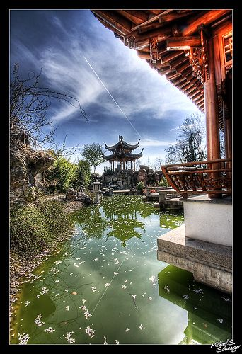 Epic Chinese Garden Stuttgart Germany