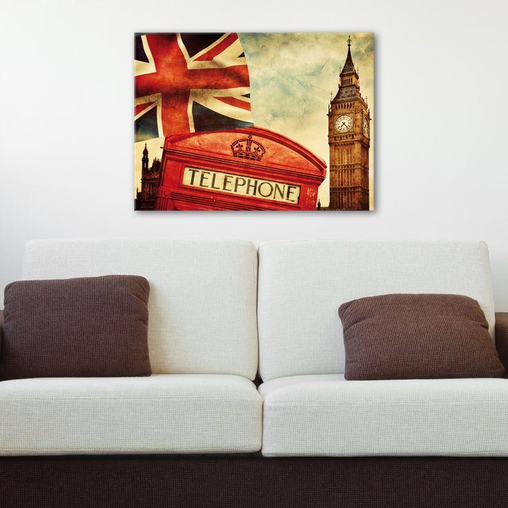 Les 25 meilleures id es concernant chambre de union jack - Deco chambre style anglais ...