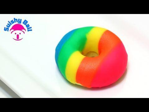 Play-Doh Rainbow Donut - YouTube
