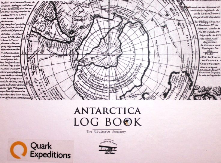 Itinerary of my expedition to Antarctica