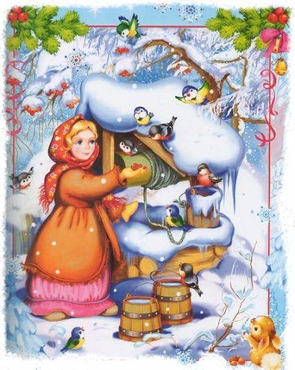 морозко новогодняя сказка для детей