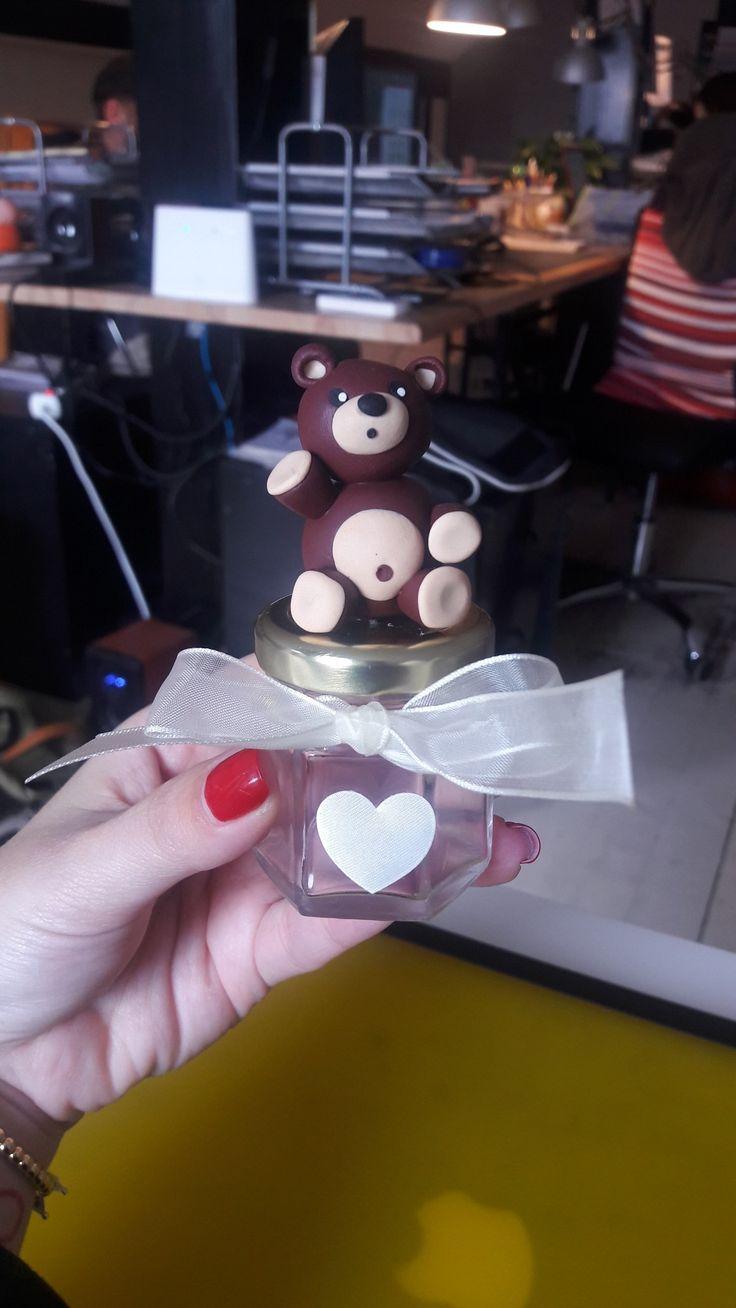 Making of bear gifts. Handmade