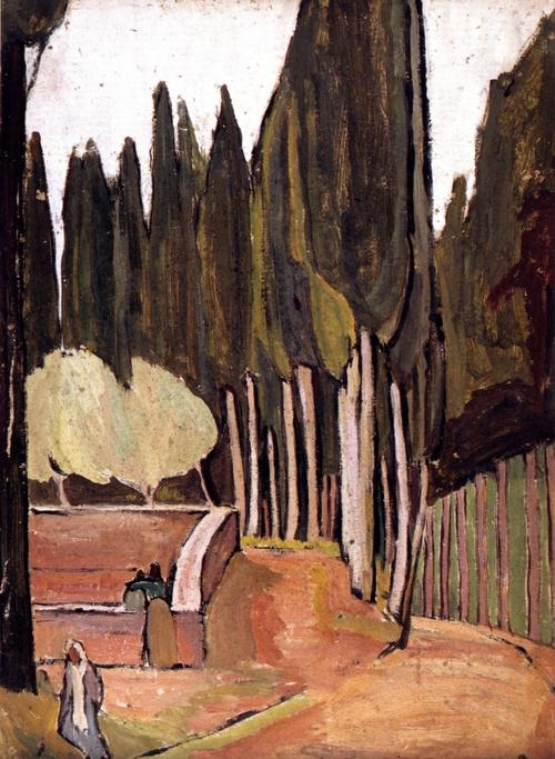 VANESSA BELL, MONTE OLIVETO, 1912