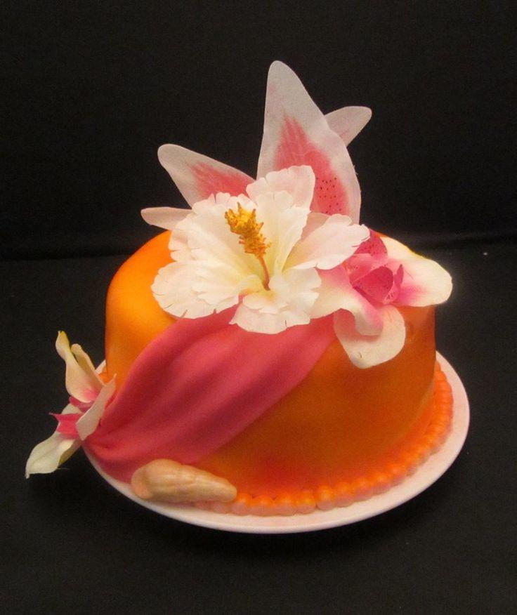 1st. Anniversary Kake made to match the Wedding Kake