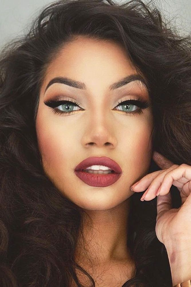17 Best Ideas About Winter Makeup On Pinterest | Holiday Makeup Autumn Make Up And Burgundy Lips