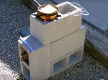 Construindo uma estufa-fogão, ao ar livre fazendo você mesmo