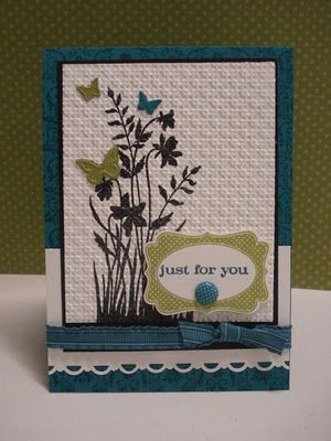 HAPPY HEART CARDS: STAMPIN' UP! BLOG HOP, CHINESE WHISPERS STYLE