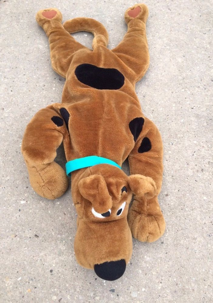 """Scooby Doo Plush Pillow 30"""" Laying Down"""