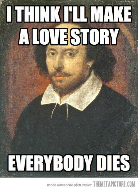 Scumbag Shakespeare...