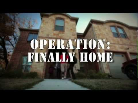 Operation finally home addresses the most pressing need of for Operationfinallyhome org