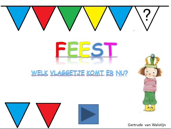 Digibordles: Welk valggetje komt er nu?  http://leermiddel.digischool.nl/po/leermiddel/00c7c100307630d82f0db806c91cafd4