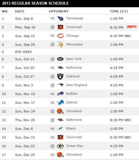 25 Best Ideas About Steelers Schedule On Pinterest Nfl