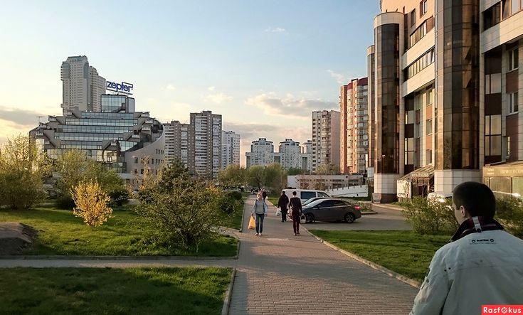 Москва, Весна.