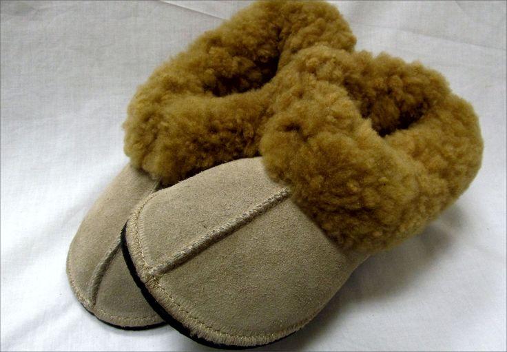 Cape Union Mart: Sheep Wool Slippers (beige) R499.00