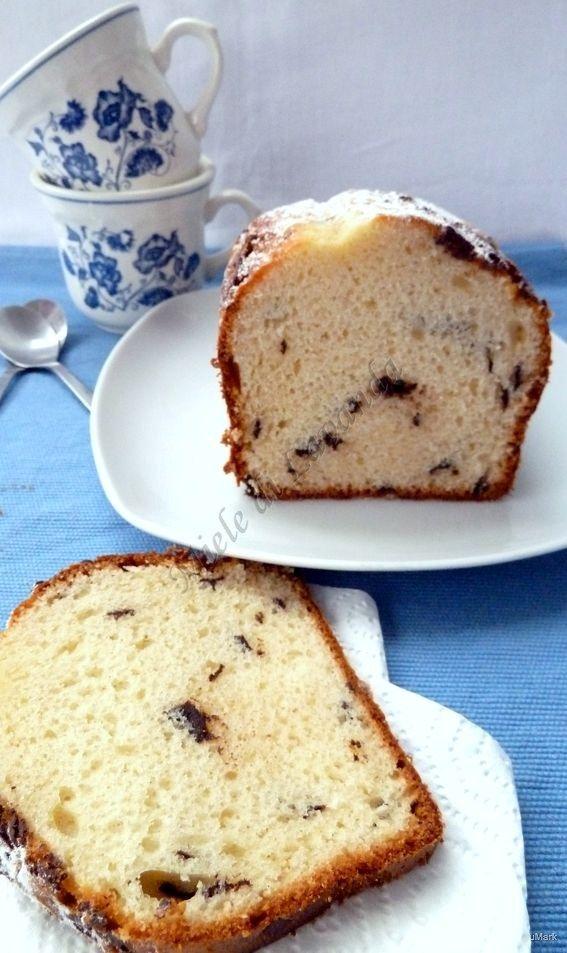 Ricetta Plumcake soffice con gocce di cioccolato | Miele di lavanda