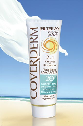 Coverderm Filteray Body Plus SPF20/40