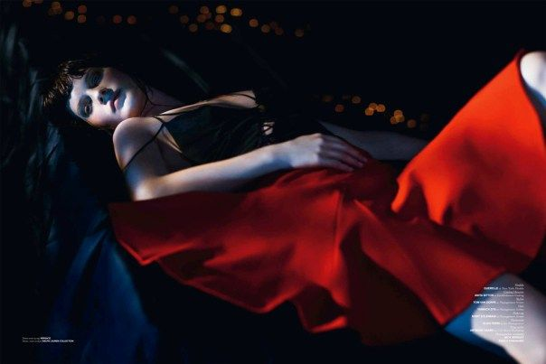 Querelle Jansen in 'Rose, Red Youth' by Lachlan Bailey for Exhibition Magazine