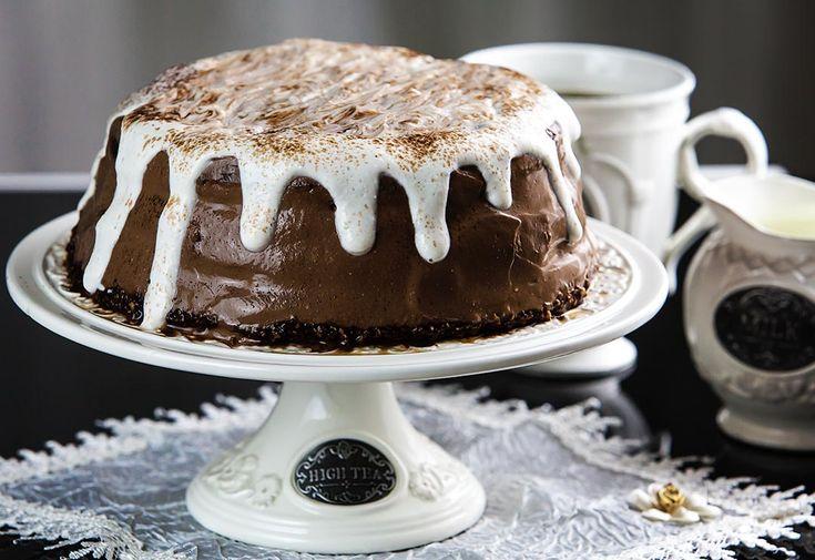Tort Dukan de ciocolata - http://depozitulderetete.ro/tort-dukan-de-ciocolata/
