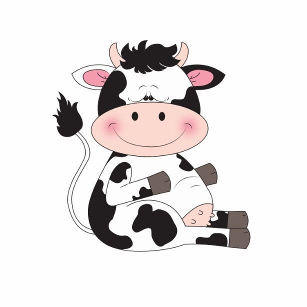 Cute Cow Cartoon Magnet Cartoon Cow Cute Cows Cartoon Cow Face