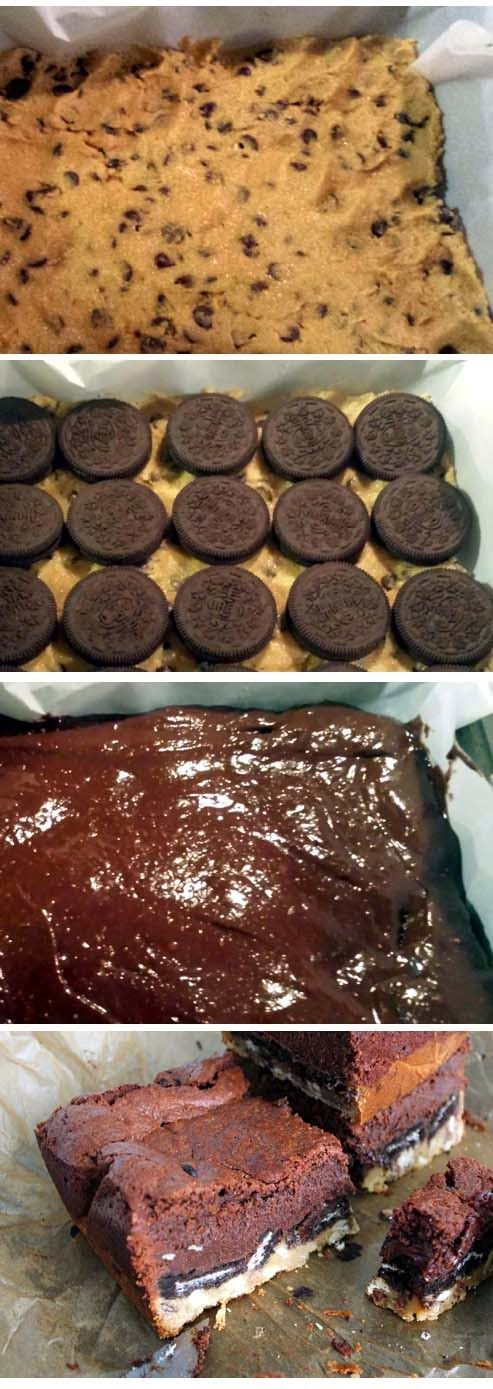 Simple Instructions for Easy Slutty Brownies Recipe