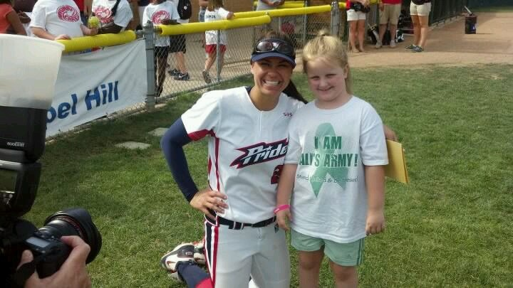 Ali and Jess Mendoza after the Akron Racers / Florida Pride game.