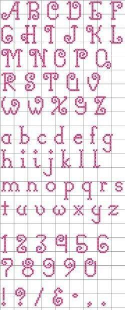 Abc cross stitch