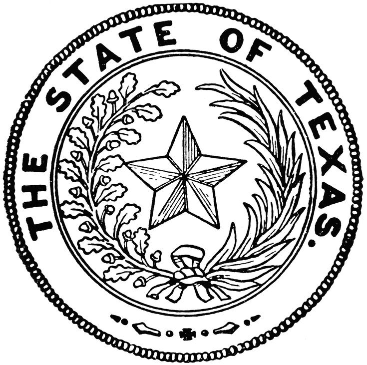 80 best images about texas coloring book on pinterest for State of texas symbols coloring pages