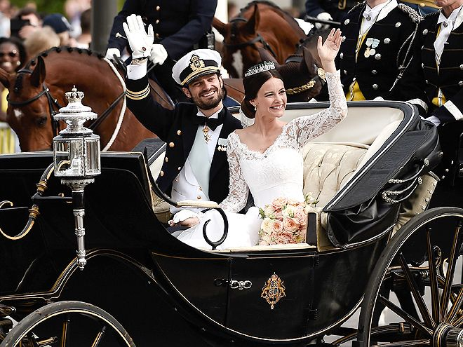Introducing Princess Sofia! The Best Photos from the Swedish Royal Wedding | Prince Carl Philip and Princess Sofia |