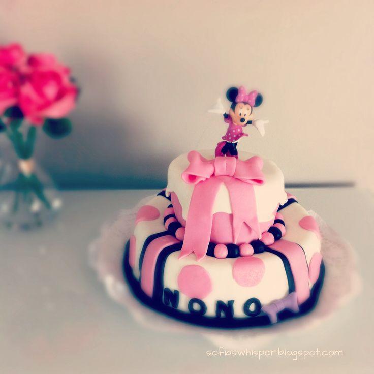 Minnie birthday cake (my version).