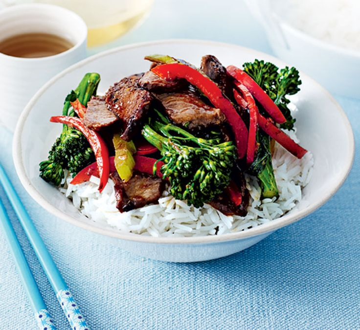 Sticky lamb stir-fry - Healthy Food Guide
