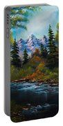 Fisherman's Retreat Portable Battery Charger by C Steele