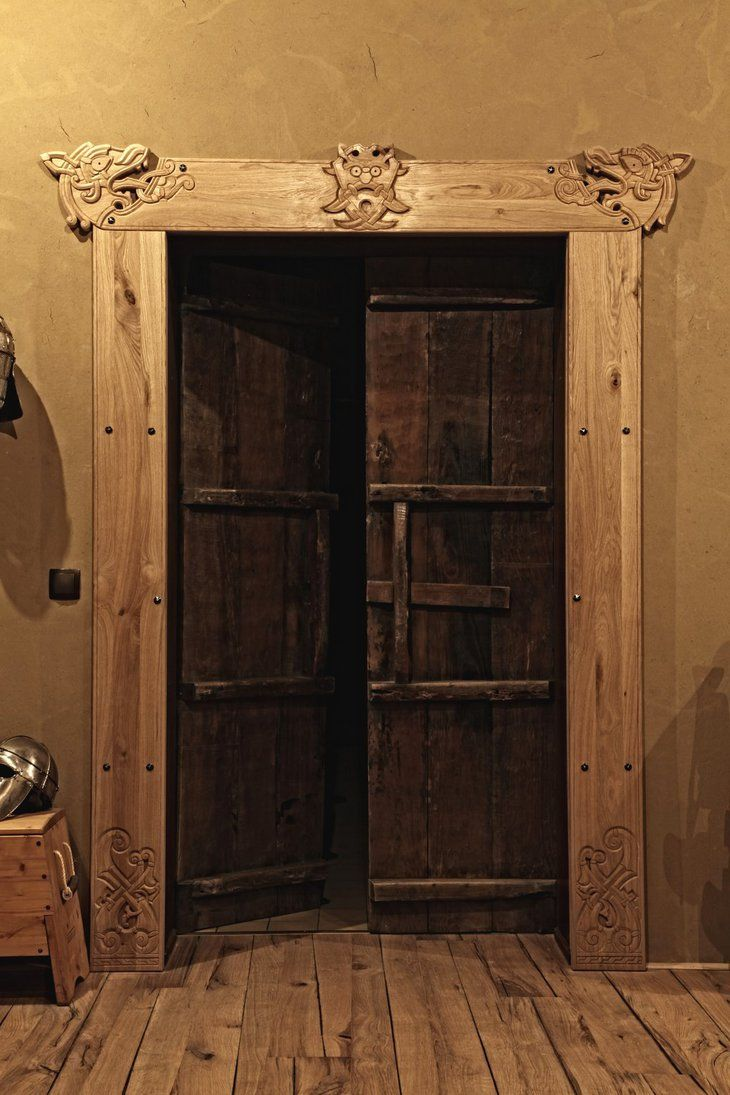 Medieval bedrooms - This Could Easily Be A Unique Door In The Homestead That Leads To A Sacred Or