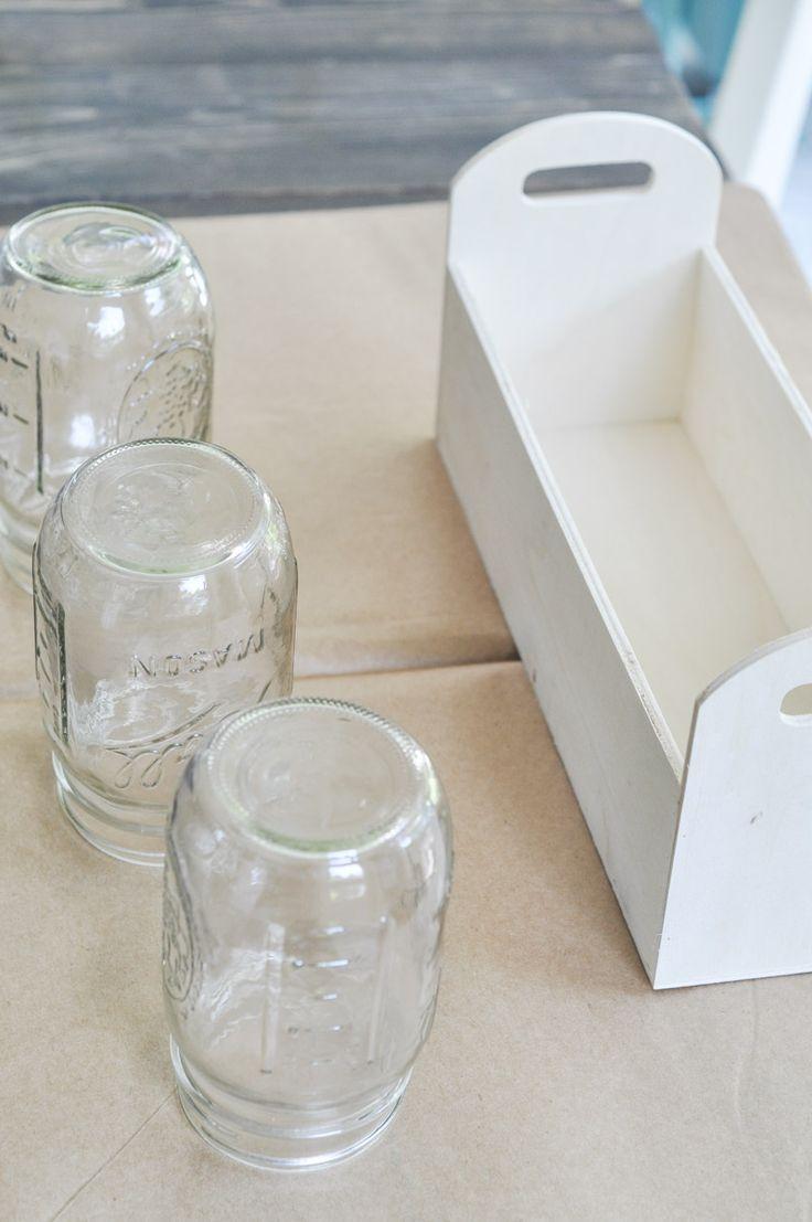 25 best ideas about mason jar holder on pinterest mason for Mason jar holder ideas