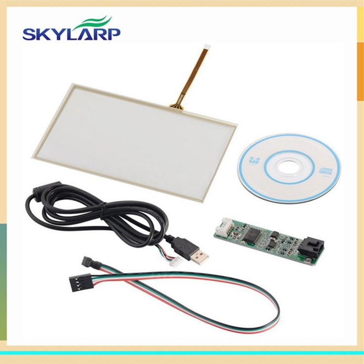 7 inch 165mm*100mm Touch screen Panel USB driver card Kit for AT070TN90 for Raspberry Pi