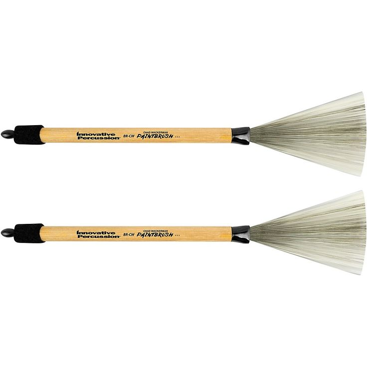 Innovative Percussion Chad Wackerman Paintbrush with Retractable Wood Handle