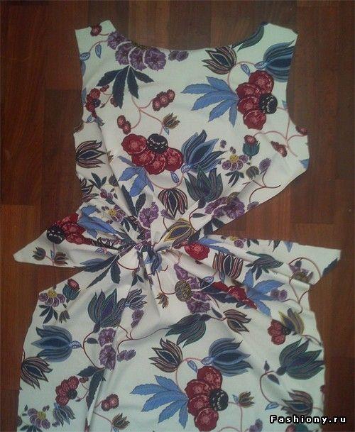 МК платья с Х-драпировкой и новинки / платье с драпировкой выкройки
