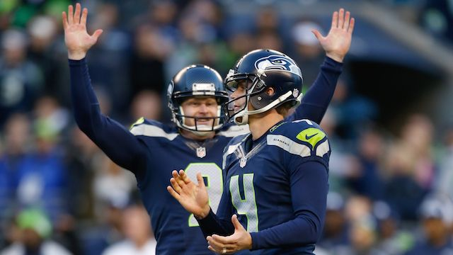 Seattle Seahawks - Jon Ryan (P) & Steven Hauschka (K)