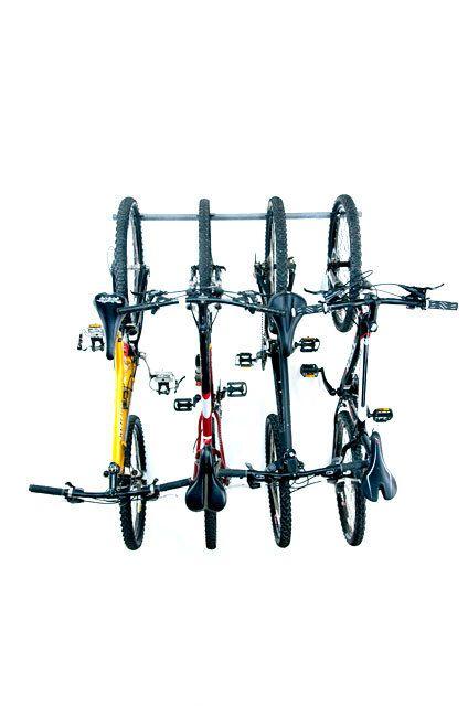 Garage Rack Storage: Wall Bike Rack (Holds 4)
