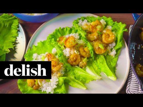 Honey Garlic Shrimp Recipe - Delish.com