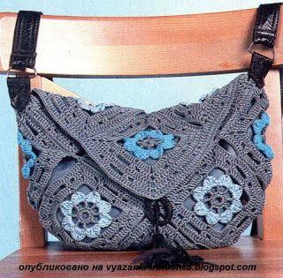 Вязание (Crochet, Knitting) от Иринушки-Сирень: Сумка крючком из мотивов