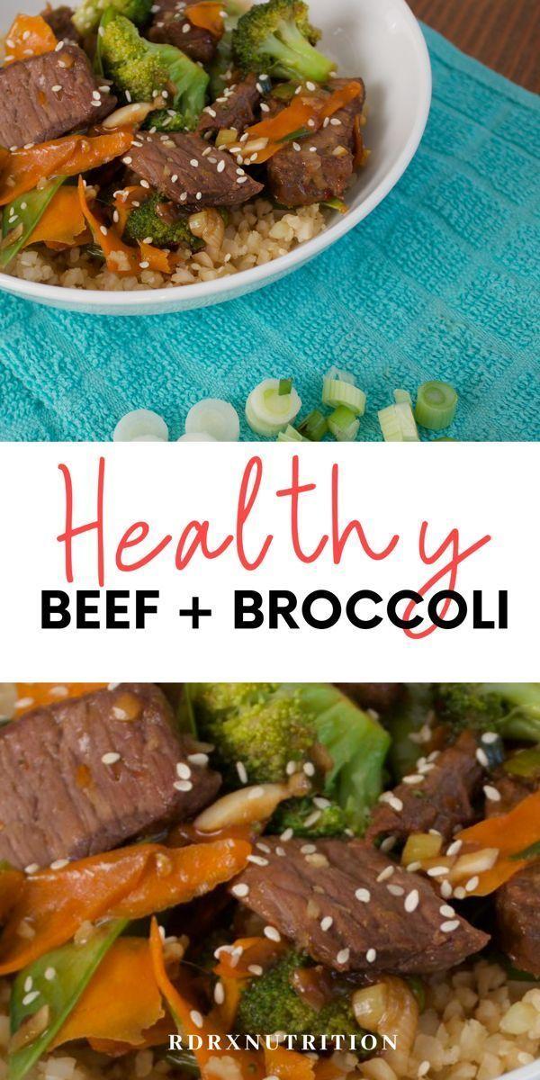Healthy Beef Broccoli Recipe Beefandbroccoli Healthy Beef And Broccoli Recipe Yummy Quick Dinner Recip Quick Delicious Dinner Healthy Beef Broccoli Recipes