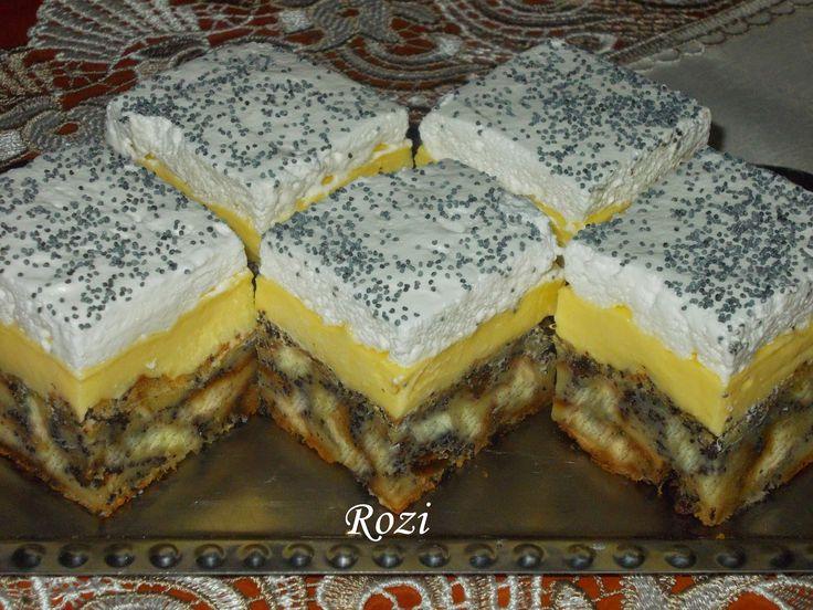 Rozi Erdélyi konyhája: Mákos guba kocka